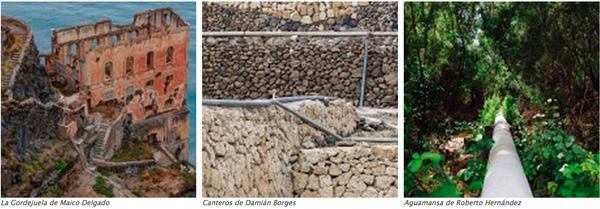Fotografías premiadas en el I Concurso fotográfico de la Cámara Insular de Aguas de Tenerife