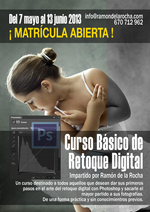 Curso Básico de Retoque Digital con Photoshop