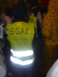 Policía de la SGAE
