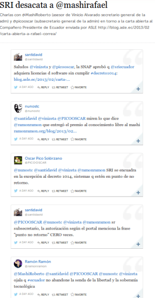 Twitter Ecuador