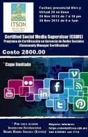 Certificación de Social Media CSMS