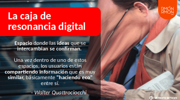Resonancia Digital y Fake News