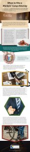 When to Hire a Workers' Comp Attorney [infographic]