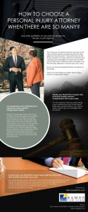 How to Choose a Personal Injury Attorney When There are so Many? [infographic]
