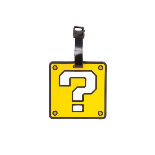 Question Mark Rubber Luggage Tag