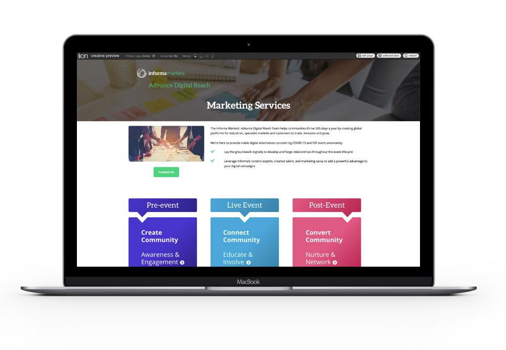 Digital Reach Landing Page