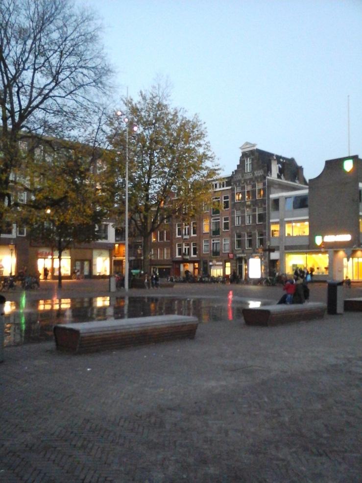 Haarlemmerplein by Hannah Muysken (Het Aardappeloproer van 1917)