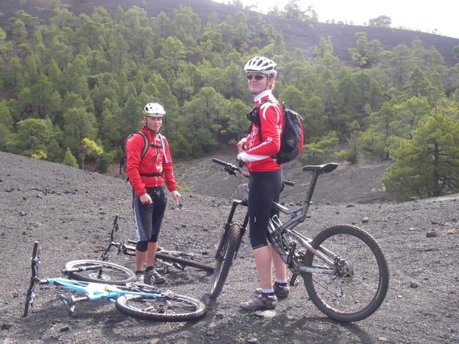Bike Station Puerto Naos La Palma ( Kanaren)