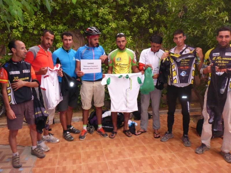 Kleiderspende Marokko