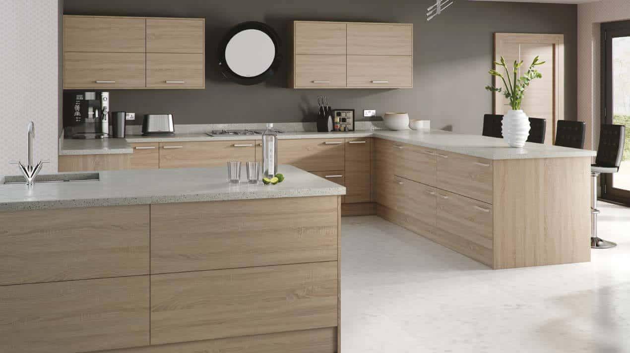 Woodgrain Bardolino Oak Ramsbottom Kitchen Company