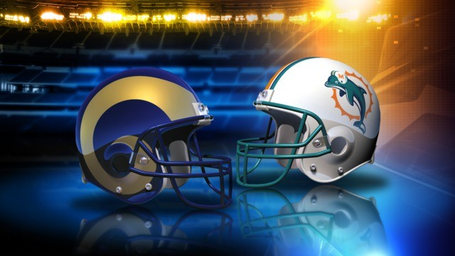 Image result for Dolphins vs. Rams