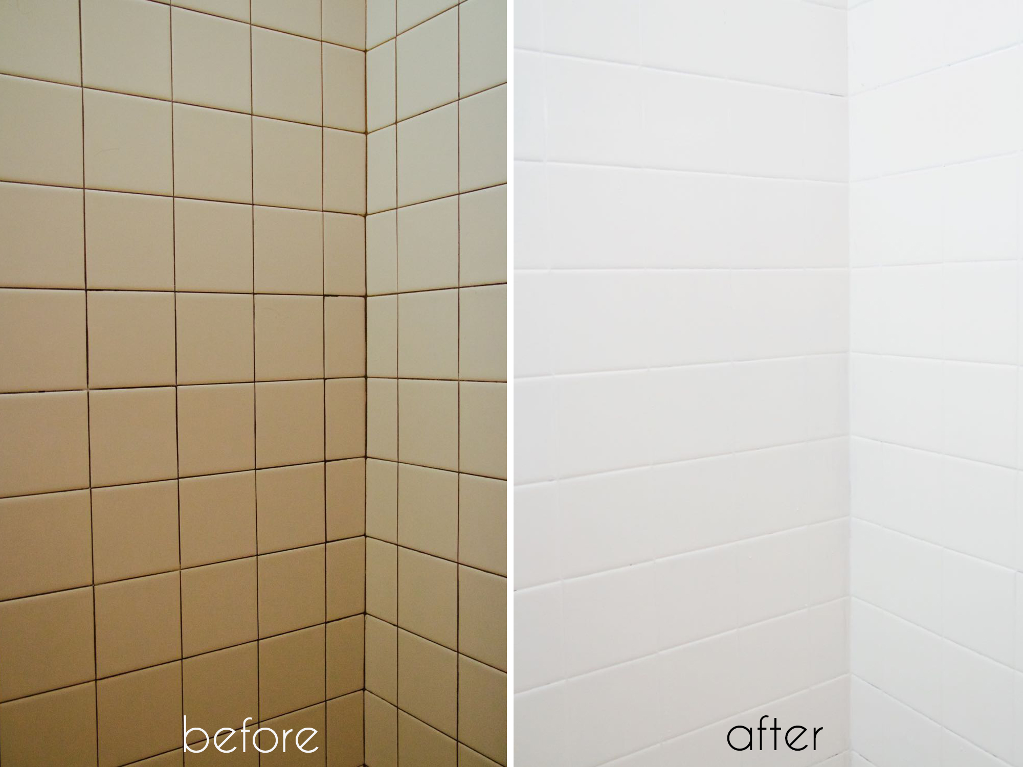 Image Result For Painting Tiles In Bathroom Before And After