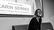 Karin Serres at the National Library, 27 March 2019.