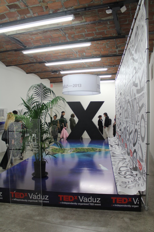 """""""Simon Denny: The Innovator's Dilemma,"""" exhibition view at PS1"""