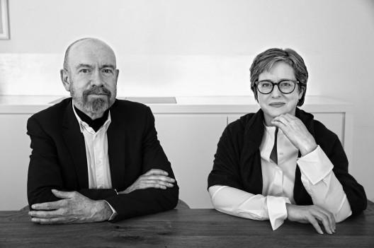 Esther Schipper and Jörg Johnen  in Berlin, May 2015. Copyright: Regina Schmeken.
