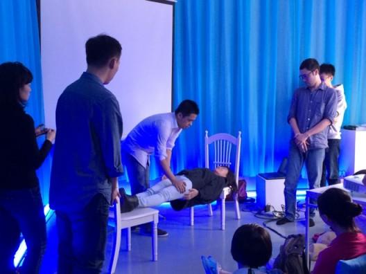 8HZ Hypnosis Lab, workshop
