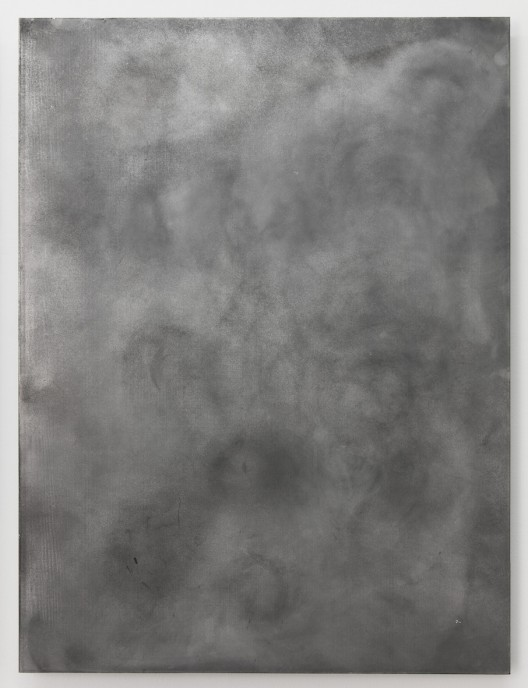 Grind 磨, SU Chang 苏畅, 2015. Aluminum board 铝板, 60 x 80 x 4 cm