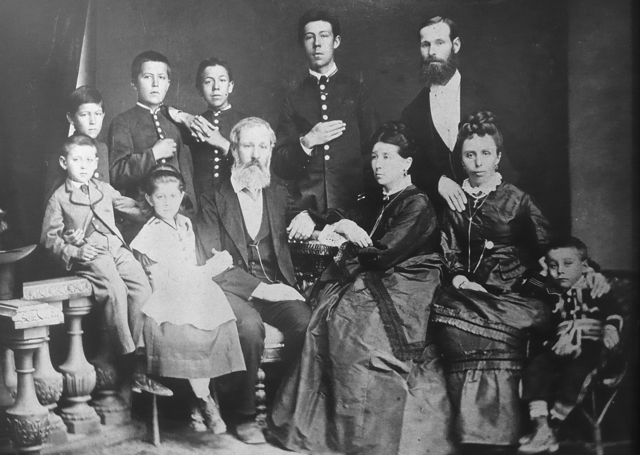 Chekhov Family Photo 1874