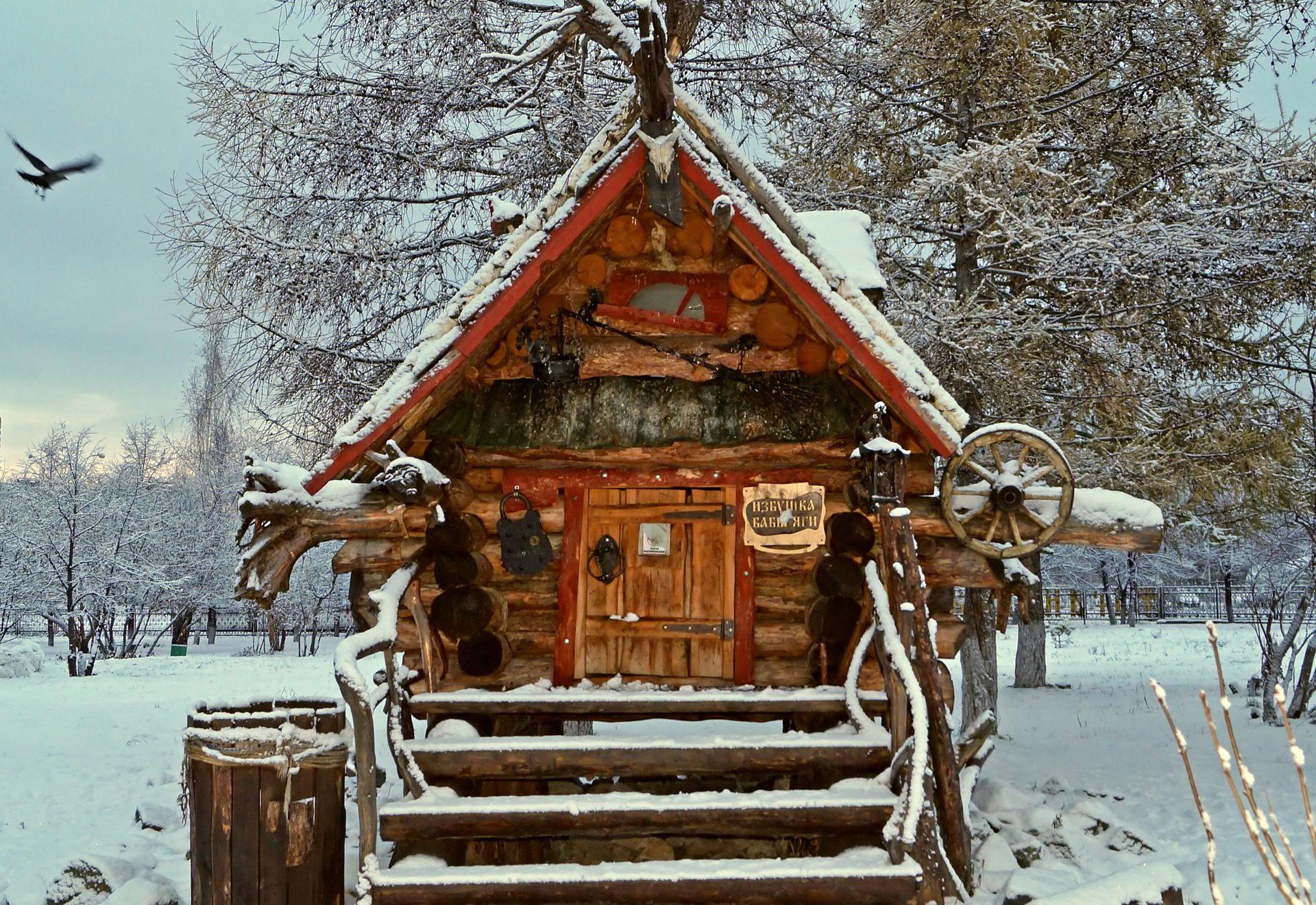 Teremok - Baba Yaga - Russian folklore poem