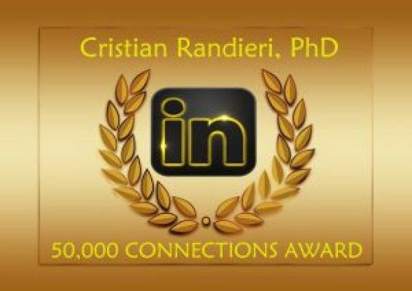 50000 connections Cristian Randieri