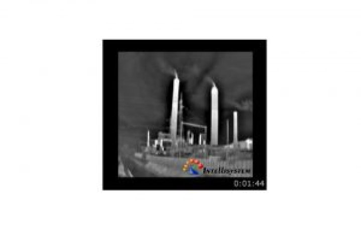 UAS UAV Oil & Gas Thermal Image of refinery - Intellisystem Technologies