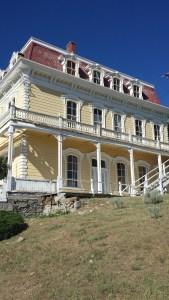 Virginia City Mansion Building