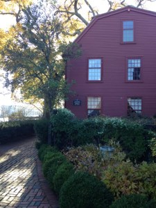 Nathanial Hawthorne lived in this home until about aged 10. The house now hold his artifacts.