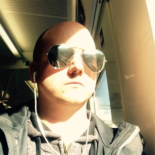 Sunny selfie