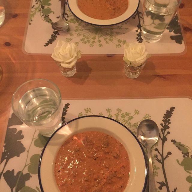 Middag är serverad