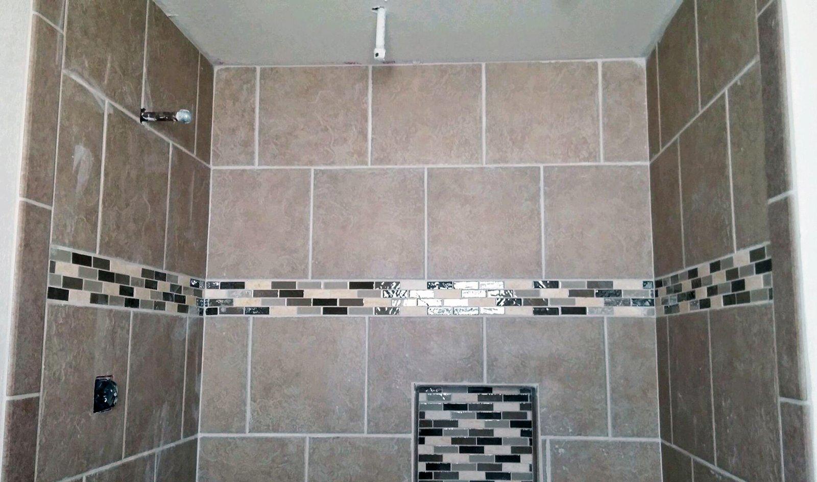 Custom Tile Walk In Shower R Amp M Flooring Amp Remodeling