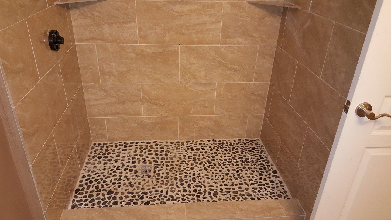 San antonio bathroom remodel - Custom Bathroom Remodeling Shower Tiling