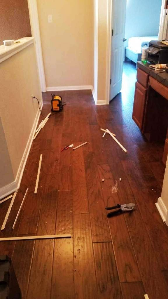 Engineered Hardwood Flooring Project