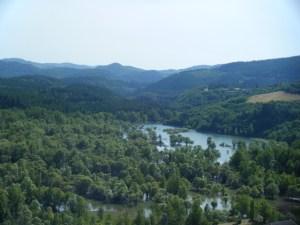Ceilhes Randonnée 9 Km Orb et Gravezon