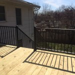 Black Front Porch Wrought Iron Railing Randolph Indoor And Outdoor Design