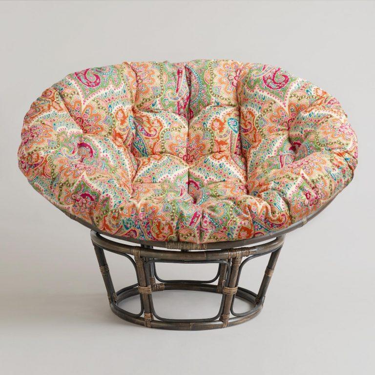 folding papasan chair for home
