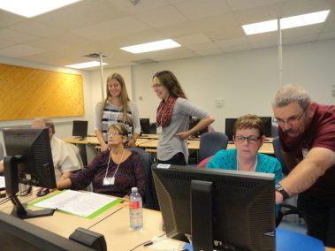 Computers 2016 - Katie, Carla & Harvey