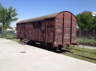 Wagon ayant servi à la déportation
