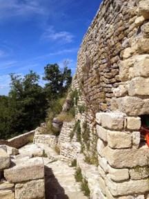 Le mur du fort