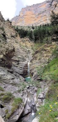panoramique vertical entrée des gorges