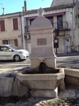 Fontaine du château