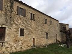 façade sud logis seigneurial