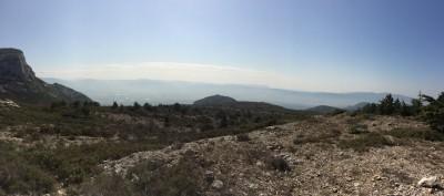 Panoramique au sommet du Garlaban