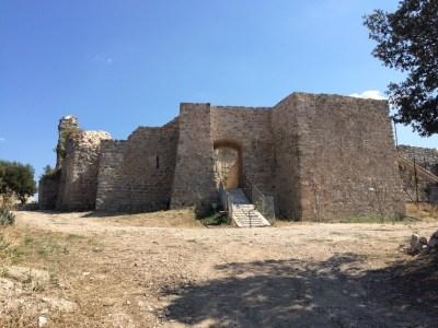 Vue du château entrée ouest