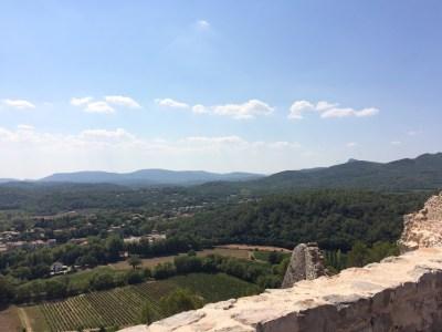 Vue sur la vallée de l'Issole