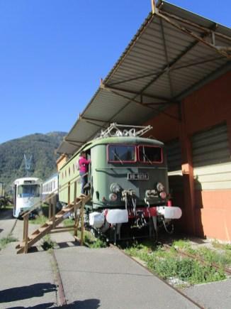 locomotive au musée
