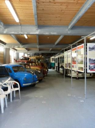 vehicules au musee