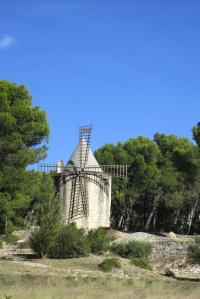 De Barbentane à l'abbaye de Frigolet