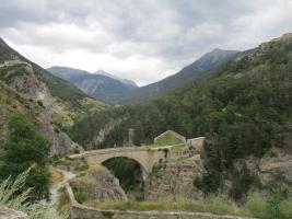 Briançon : le fort des Têtes par le parc de la Schappe et le pont d'Asfeld