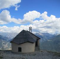 Notre Dame des Neiges par le téléphérique du Prorel