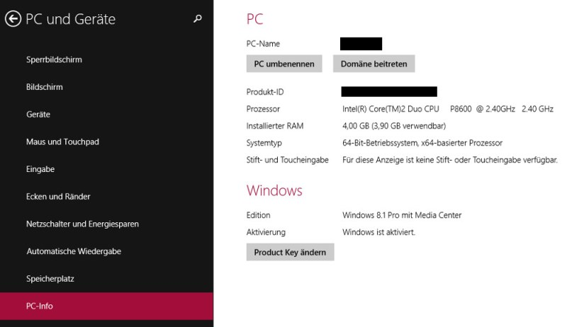 Windows 8 legal downloaden